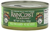 Raincoast Trading Company Wild Pink Salmon, No Salt Added, 5.65-Ounce Cans (Pack of 12)