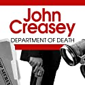 Department of Death Audiobook by John Creasey Narrated by Barnaby Edwards
