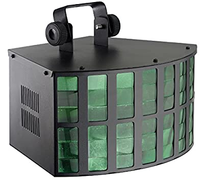 Stagg SDJ-TRITON-1 DJ LED with 4 Control Modes & 4 Button Display - Black from Stagg