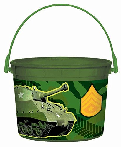 Camoflague Favor Container