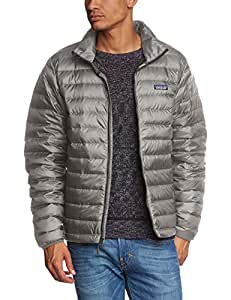 Patagonia Down Sweater - Men's Feather Grey w/ Forge Grey 2X-Large