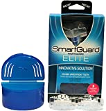 Mouth Guard for Teeth Grinding - 2 SMARTGUARD ELITE Mouthguards - TMJ Dentist Designed - Dental Splint protector, Custom Occlusal Bite Guard Mouthguard for Bruxism - Jaw Clenching Relief Sleep Aid Mouthpiece, Best Night Guard - 1 YEAR 100% Guarantee!