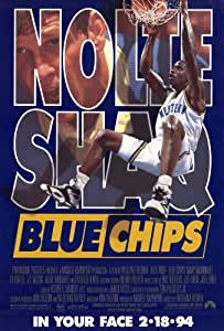 Blue Chips Poster Movie 11x17 Nick Nolte Shaquille O'Neal Mary McDonnell Ed O'Neill