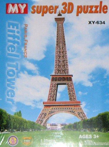 Cheap CHARMLAND 3D FOAMBOARD PUZZLE – EIFFEL TOWER (B0010ZB82I)