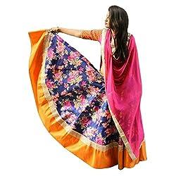 Crazy Butik women Bhagalpuri lehenga Choli[ LDB1004_Multi_free size]