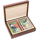 Bello Games New York%2C Inc The Knight Card Case & Bello Games Designer Series Butterfly Garden Congress Playing...