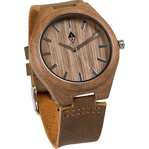 Wood-Grain-Handmade-Mens-Walnut-Wood-Natural-Wooden-Watch-with-Genuine-Brown-Leather-Band