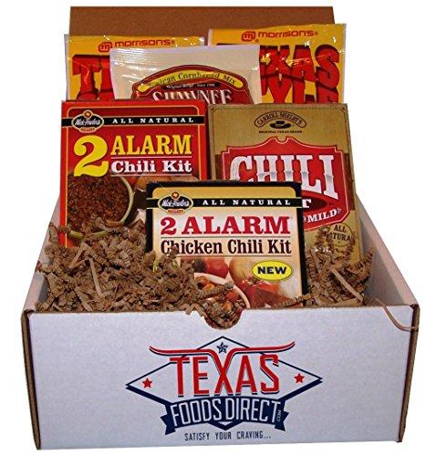 Texas Foods Chili Gift Set - Award-winning Texas