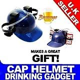 Blue Beer Helmet