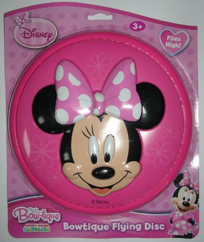 Disney Minnie Mouse Bow-tique Flying Disc - 1