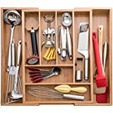 Bellemain Bamboo Expandable, Utensil - Cutlery and Utility Drawer Organizer