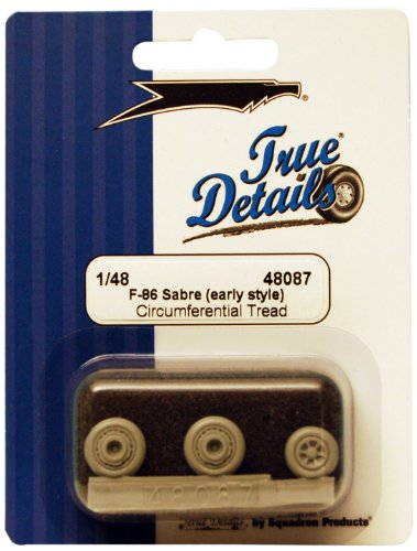 True Details F-86 Sabre Wheel Set (Early Style) - 1