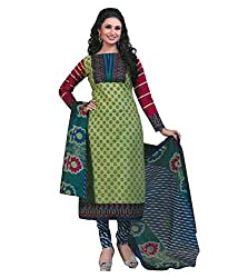 Divisha Fashion Women Cotton Dress Material (Dfsgp741 _Multi-Coloured)