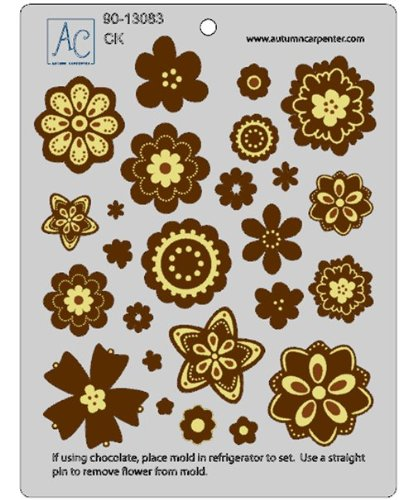 CK Products Flower Fun Accessory Chocolate Mold