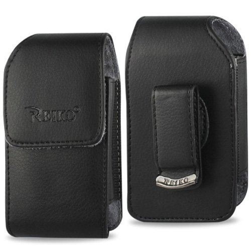 Vertical Leather Case with Magnetic closure with belt clip f