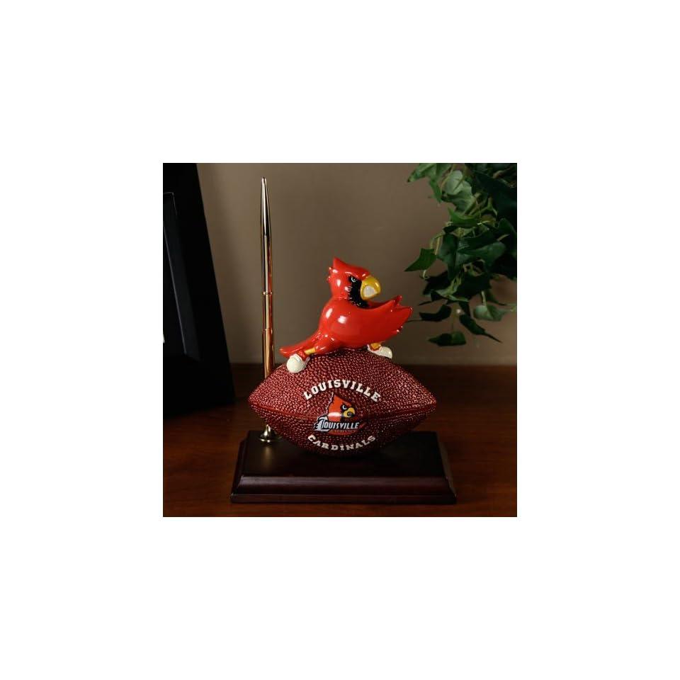 NCAA Louisville Cardinals Football Mascot Desk Set 8