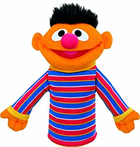Gund Sesame Street Ernie Hand Puppet by Rejects from Studios
