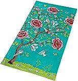 Pip Morning Glory jade grün Beach Towel Strandlaken 100 x180 cm
