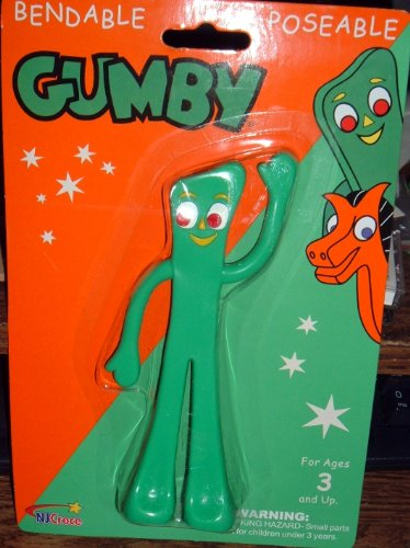 "Gumby/Semper Gumby 6"" Bendable - 1"