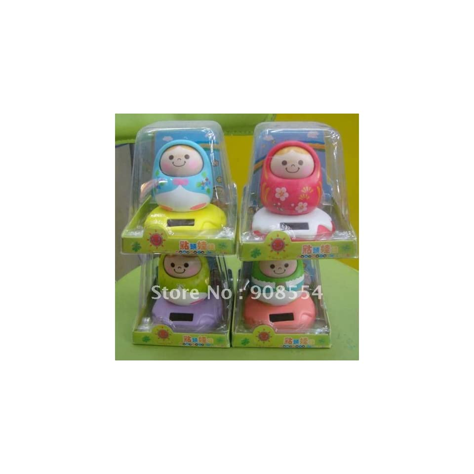 via ems 160pcs per lot solar energy novelty toy unazukin