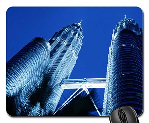 petronas-towers-skyscrapers-kuala-lumpur-mouse-pad-mousepad-modern-mouse-pad
