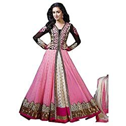 Shree Ganesh Women's Georgette Unstitched Dress Materials [D34]