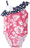 Flap Happy Baby-Girls Infant Upf 50 Asymmetrical Swimsuit