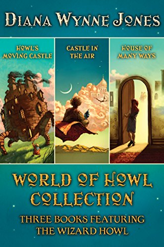 Diana Wynne Jones - Howl's Moving Castle Complete Collection