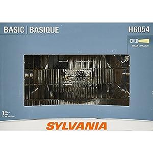SYLVANIA H4351 Basic Rectangular Halogen Sealed Beam Headlight, (Contains 1 Bulb)
