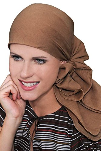 Oversized Solid Cotton Head Scarves for Chemotherapy