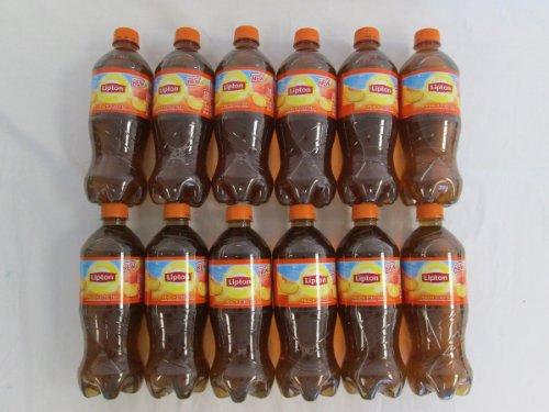 Lipton Peach Iced Tea: 12 Bottles Of 20 Fl Oz - Tj