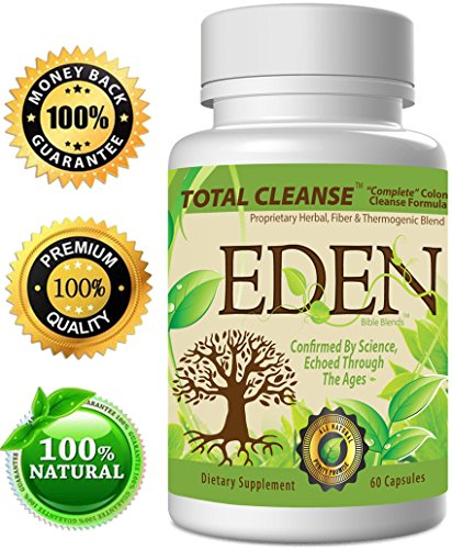 "3-N-1 Colon Cleanse Weight Loss Blend: Eden'S Triple Action ""Total Cleanse"" For A Complete, Safe, Natural Colon Cleanse & Detox => This Super Colon Cleanse Is An All Natural & Gentle Colon Cleanser For Optimum Colon & Digestive Health! => ★ Bonus Companio front-21207"