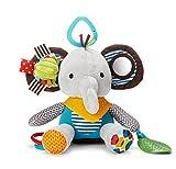 ベビー & キッズ 音が鳴る 人形 仕掛け 知育 遊具 子供 赤ちゃん おもちゃ ぬいぐるみ (ゾウ) 玩具 出産祝い プレゼント 揺れる 象 ぞう