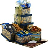 51lPQg5%2B7BL. SL160  Art of Appreciation Gift Baskets  Crowd Pleaser Gourmet Food and Snacks Gift Tower