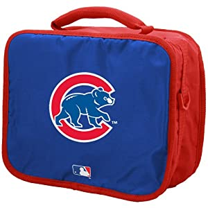 Chicago Cubs Royal Blue-Red Insulated Lunch Tote Bag by Concept One