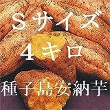 種子島安納芋 Sサイズ4キロ 安納紅