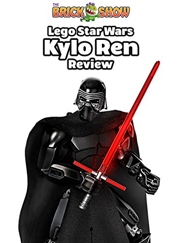 LEGO Star Wars The Force Awakens Kylo Ren Buildable Figure Review (75117)