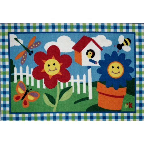 Happy Flowers Area Rug 39