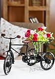 """Atresiaa Home decorative Rikshaw With Basket (14.6""""x7""""x8.6"""")"""