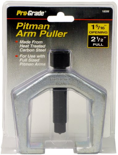 Pro-Grade 18206 Pitman Arm Puller, 1-5/16-Inch Opening Size 2-1/2-Inch Full
