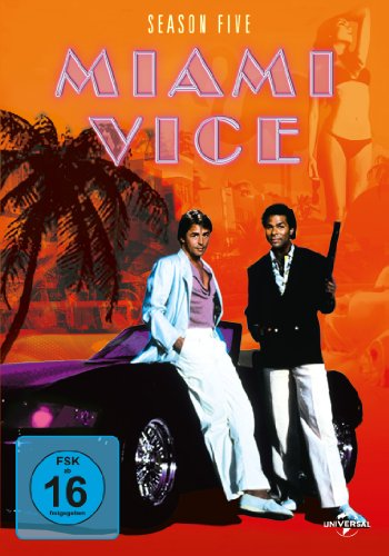 Miami Vice - Season 5 [6 DVDs]
