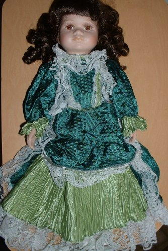 Collectible Fine Bisque Porcelain Doll with Stand - Buy Collectible Fine Bisque Porcelain Doll with Stand - Purchase Collectible Fine Bisque Porcelain Doll with Stand (Knightsbridge Collection, Toys & Games,Categories,Dolls,Porcelain Dolls)