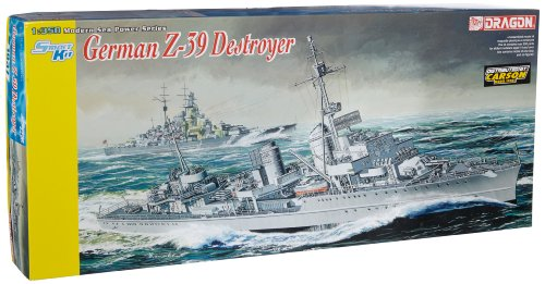 DRAGON 1037 German Z-39 Destroyer - Smart Model Kit 1:350