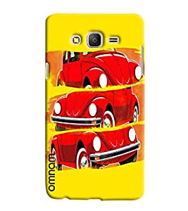 Omnam Vintage Car In Three Poses Desinger Back Cover Case For Samsung Galaxy On 7