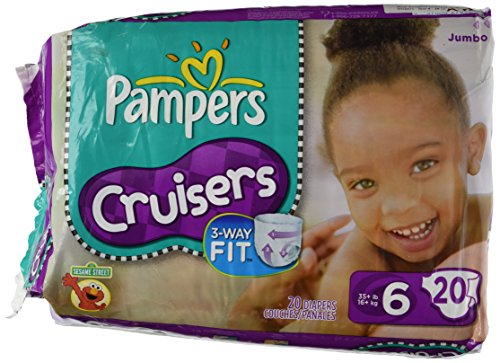 Pampers Cruisers Original Diapers - Size 6 - 20 ct - 1