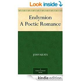 Endymion A Poetic Romance