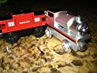 Limited Edition 60 Year PERCY Thomas the Train Wooden Train + Sodor Line Caboose