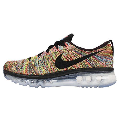 Nike Flyknit Air Max Black/Blue/Orange 620659-005 (SIZE: 8.5) (Nike Air Max Flyknit compare prices)