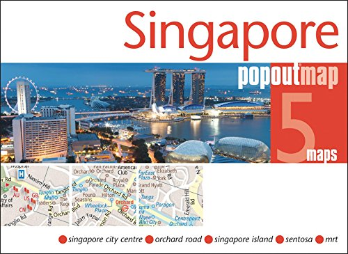Singapore Popout Map (Popout Maps)