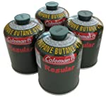 Coleman(コールマン) 純正 LPガス燃料 Tタイプ 5103A470T 4個パック
